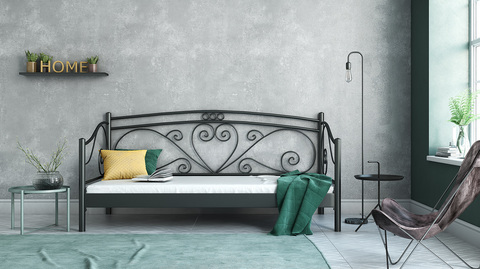 METAL SOFA BED