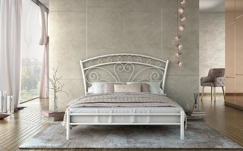 METAL KING SIZE BED NEFELI